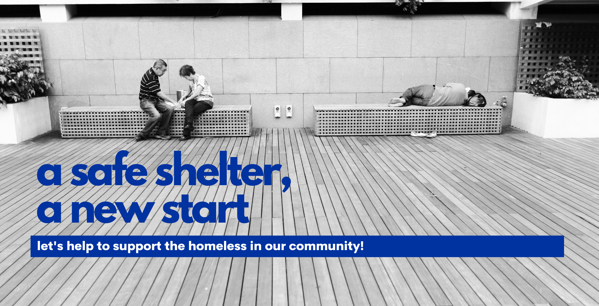 Help to support the homeless in our community!