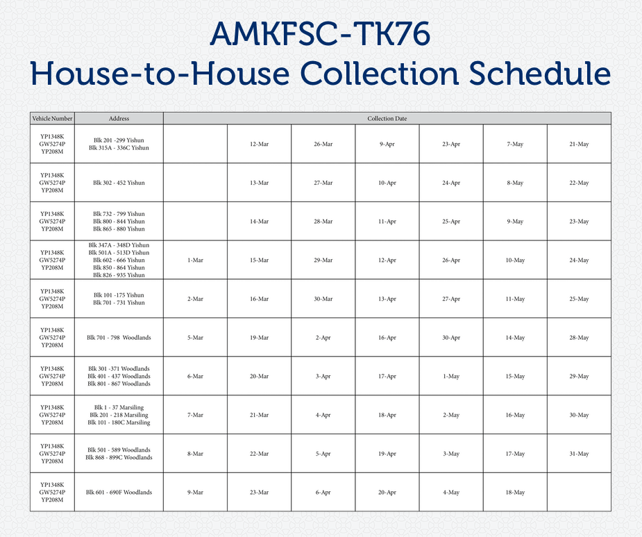 FB20180302 TK76collectionschedule