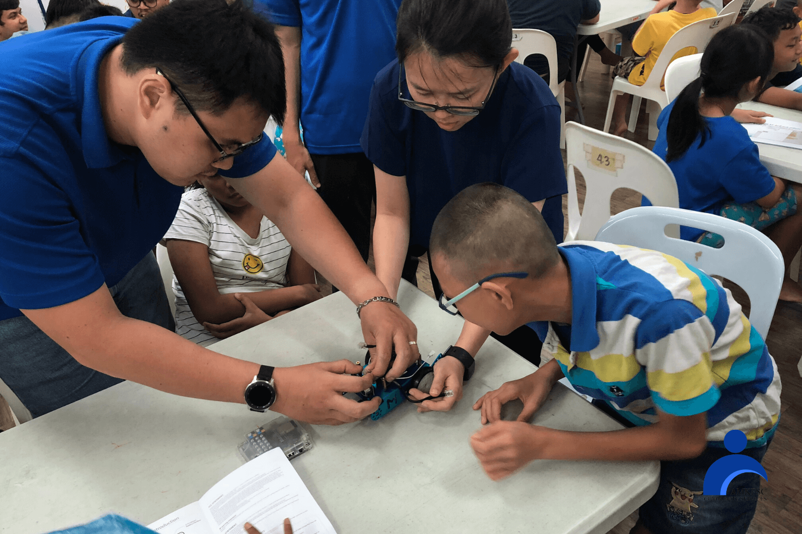 Building and Coding MBots with Singapore Power