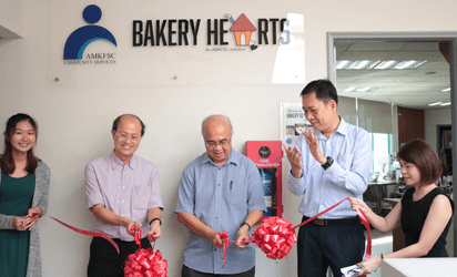Official opening of Bakery Hearts kitchen