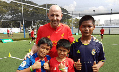 Liverpool Football Club (LFC) Soccer Clinic by Standard Chartered Bank