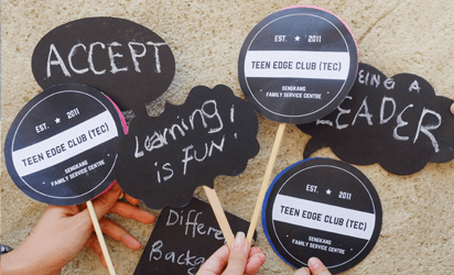 Values learned in Teen-Edged Club (TEC)